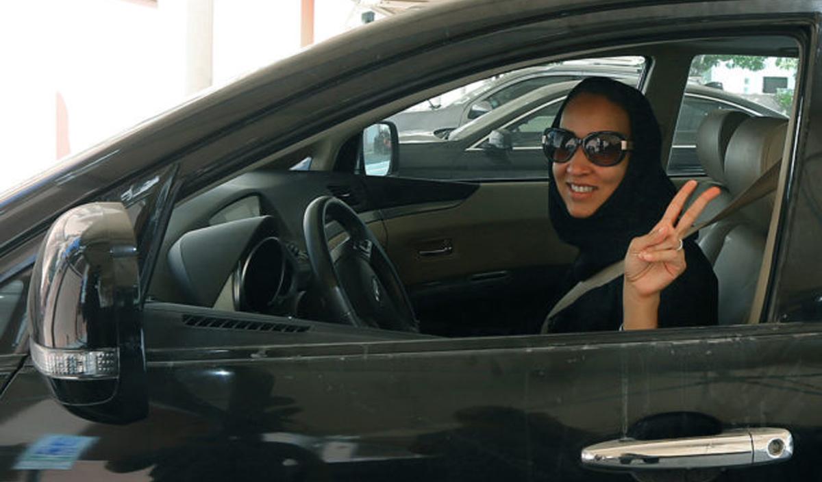 Hinterm Steuer: Manal Al-Sharif 2011