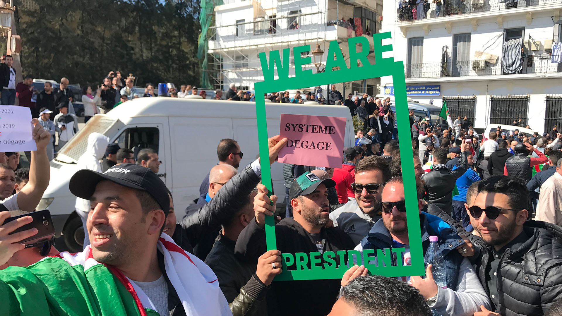 Demonstrationen in Algerien