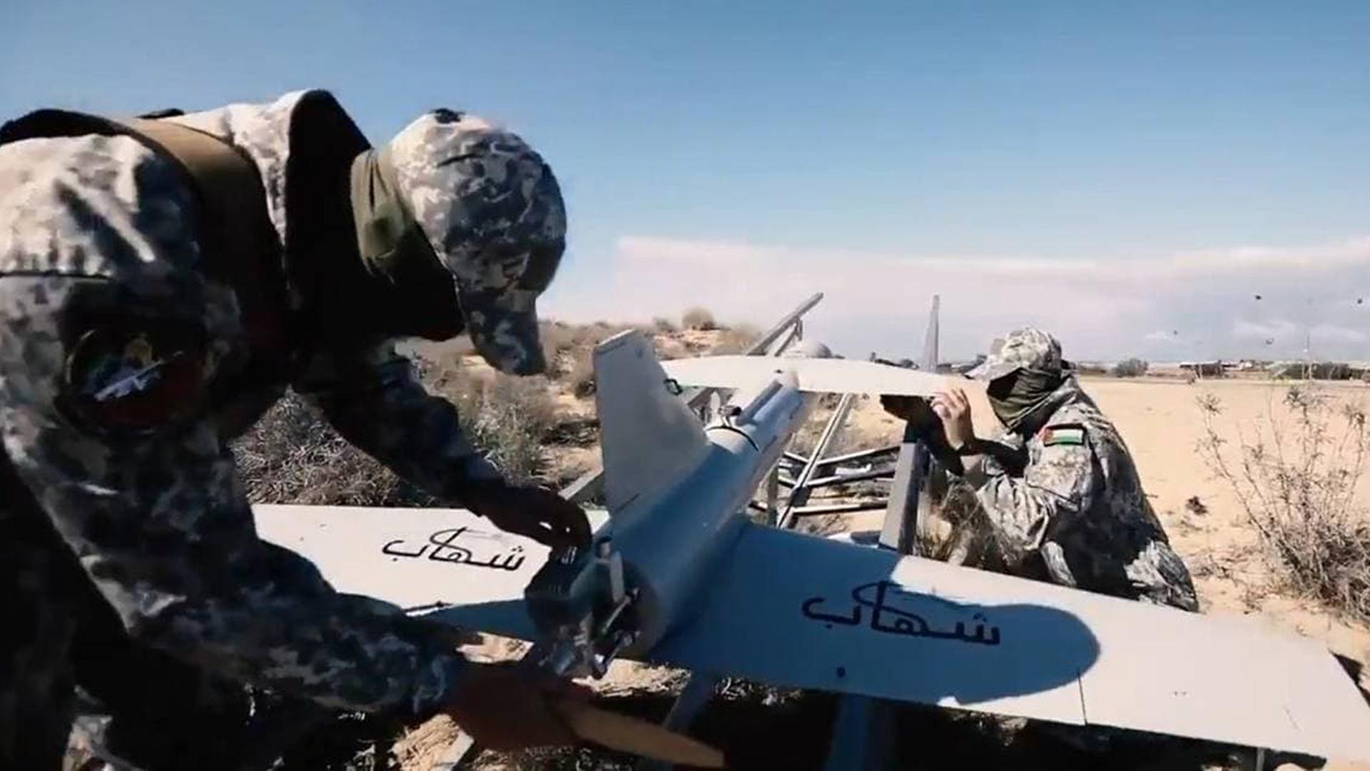 Drohnen und der Krieg zwischen Israel und der Hamas