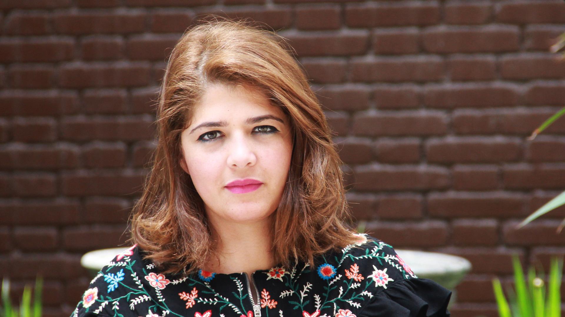 »Tahrir Lounge« Gründerin und -Leiterin Mona Shahien