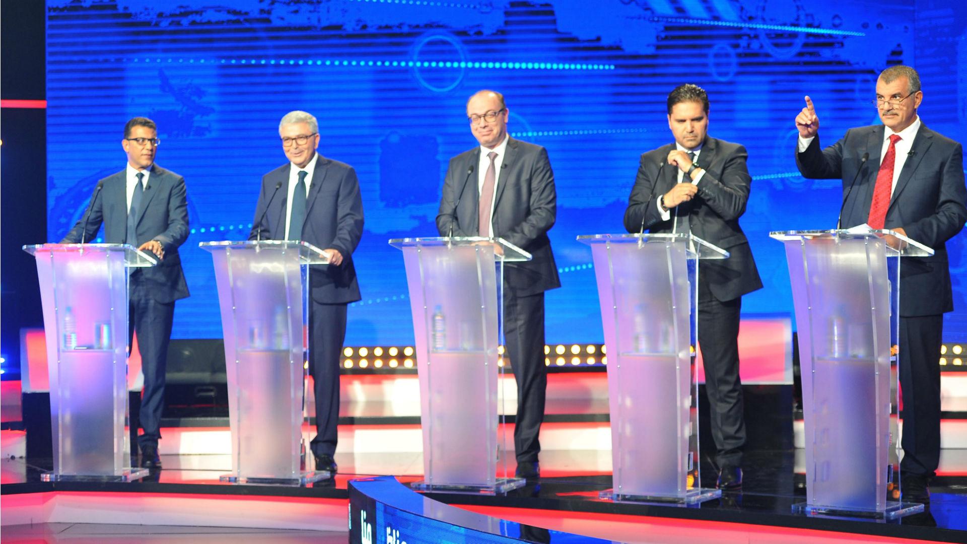 Tunesiens erste TV-Debatte zu den Präsidentschaftswahlen