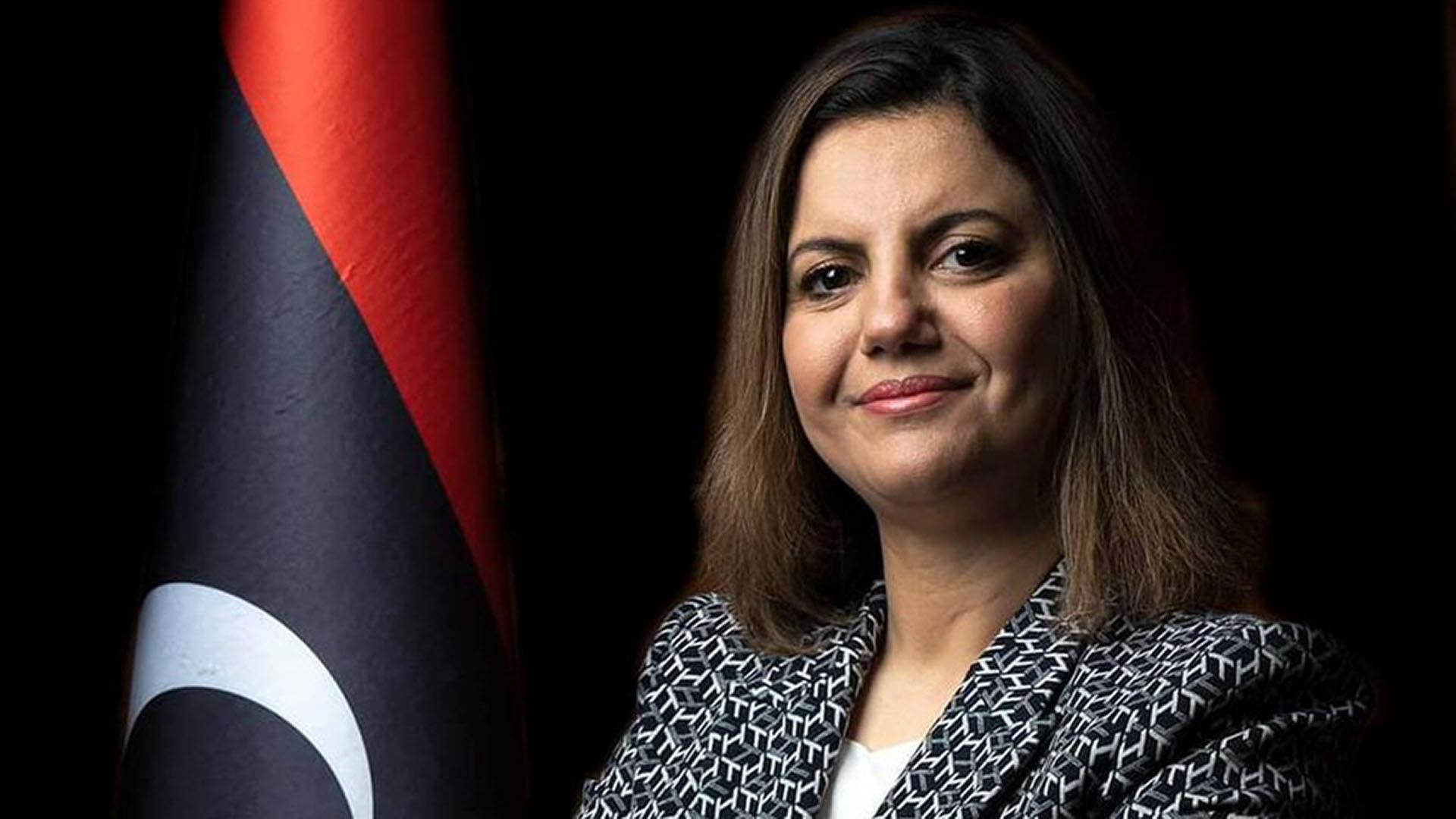 Libysche Außenministerin Najla Al-Mangoush