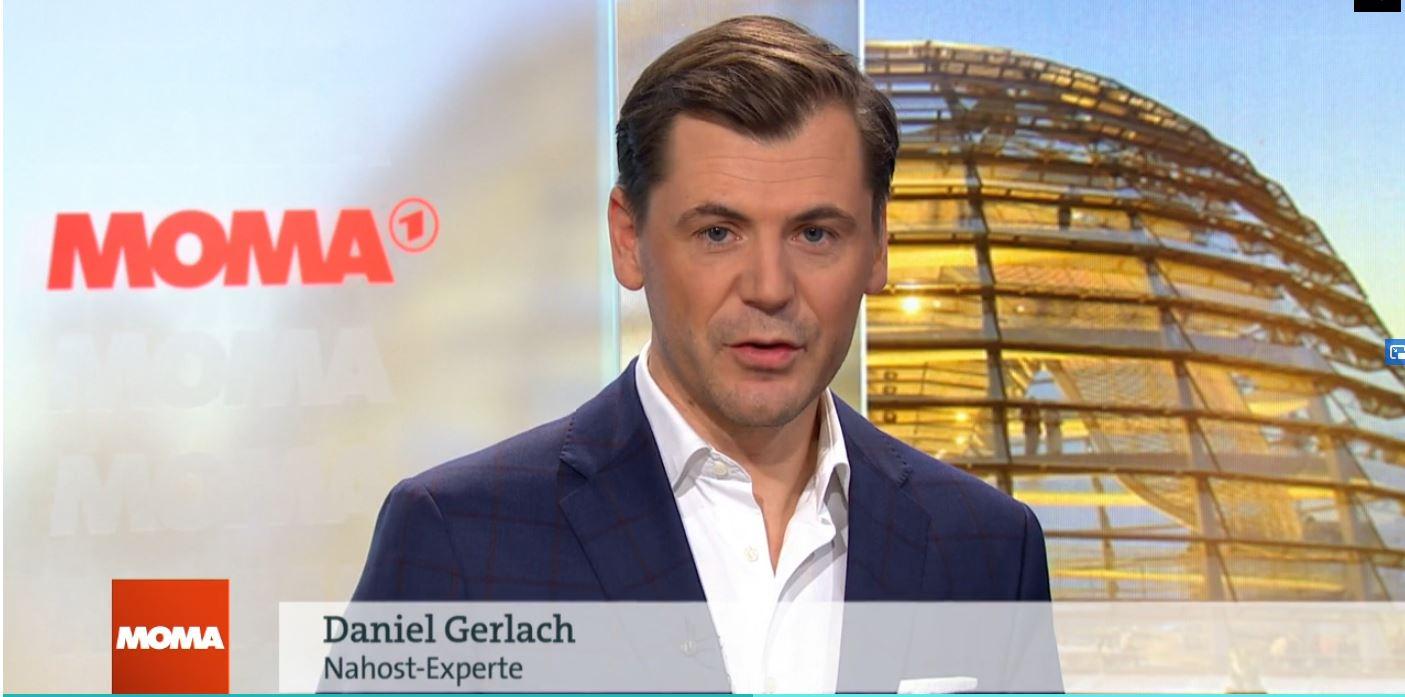 Daniel Gerlach am 8. Januar 2020 im ARD-Morgenmagazin
