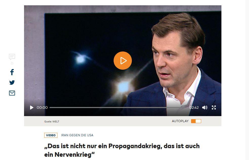 Daniel Gerlach im Interview bei der WELT